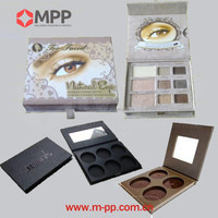 Custom paper wholesale private label empty naked eyeshadow palette