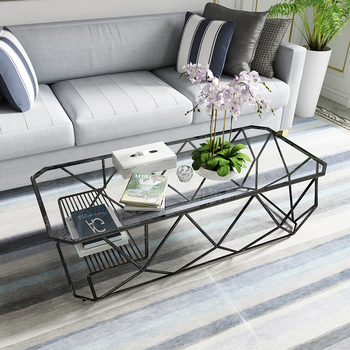 Modern Design Antique Glass Top Center Tea Table For Sale Smart Furniture Tempered Glass Coffee Table
