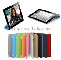 for i pad leather case,smart case for new ipad