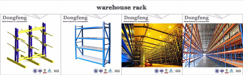 factory warehouse metal pallet racking system for sale