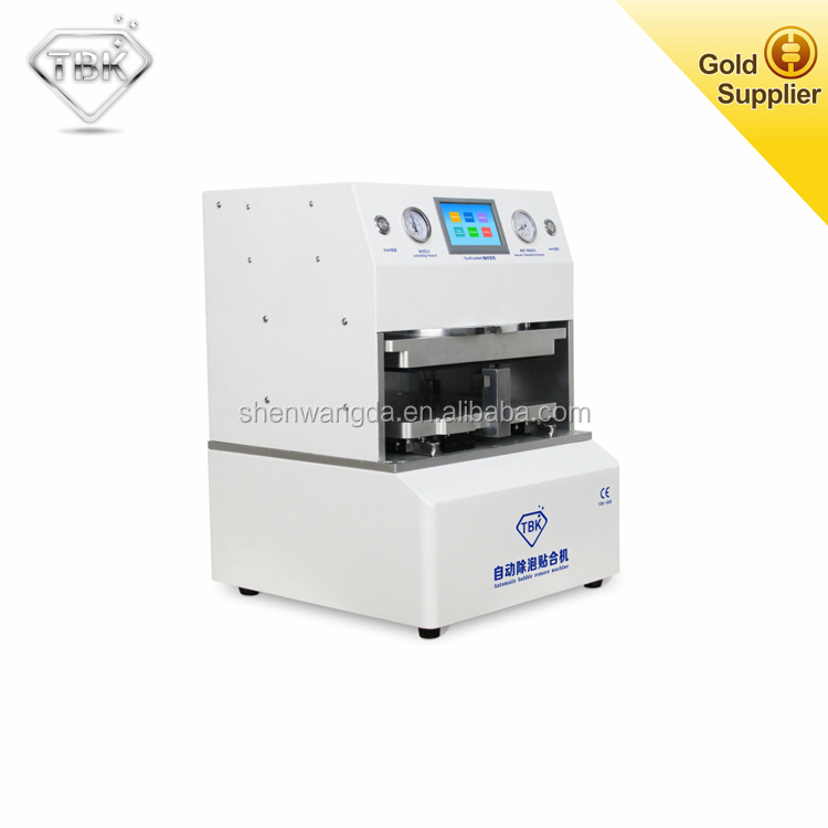 TBK Automatic Vacuum Lamination Machine Debubbler Machine LCD Repairing Equipment for Tablet PC and Mobile Phone Touch Screen