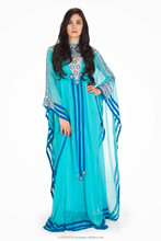 Istock Best Price Fashion Women Turkish Ialamic Clothing plusSize Elegant Solid Color Abaya Maxi Dress Dubai Fashion Kaftan k616