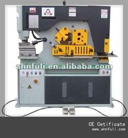 Q35Y Series Steel ironworker, Hydraulic ironworker, shearing and punching machine,