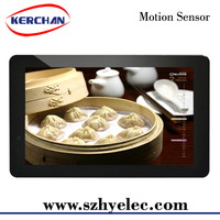 lcd monitor usb media player for advertising/10.1'' large frame multiple pictures digital photo frame