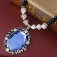 2015 New Model gems decorate necklace fashion