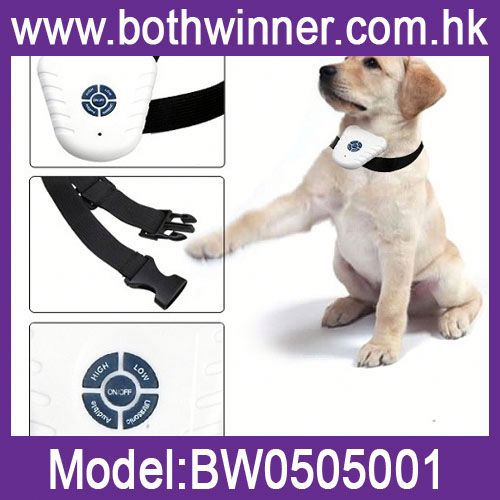 DA119 Digital voice control pet training no barking shock bark stop dog train collar