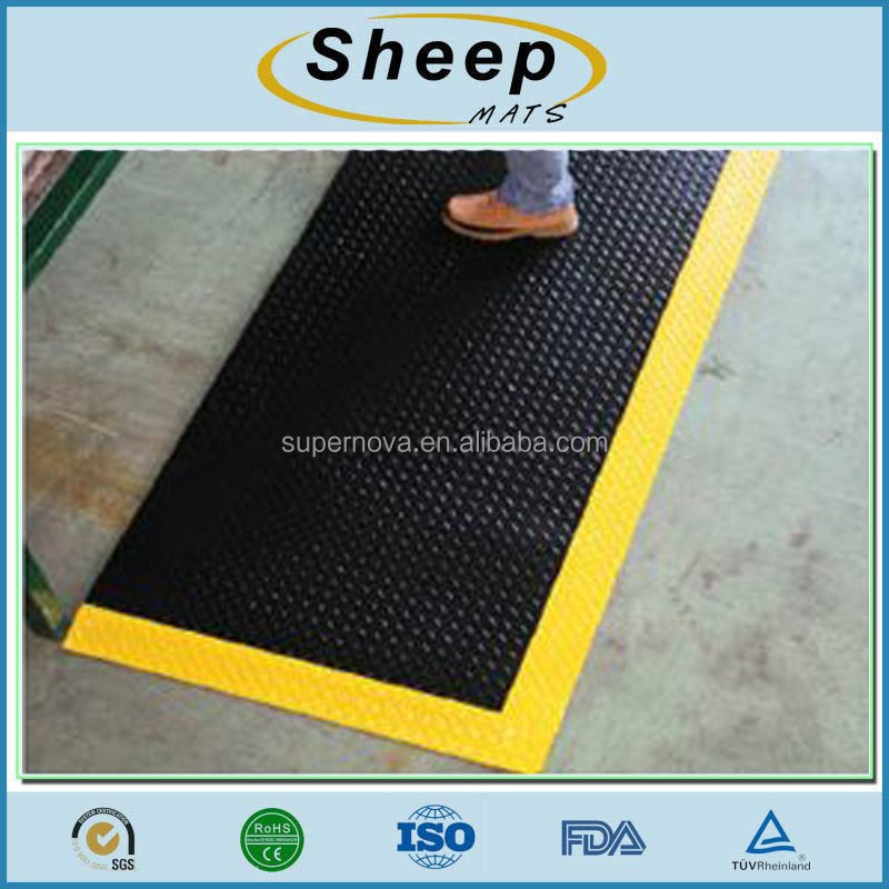 Factory Wholesale Easy Clean Comfort Custom Garage Rubber Floor Mats