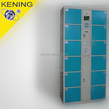 Bule color 10door Electronic lock Shopping Mall Lockers