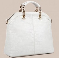2015 high quality PU super hot selling lady bag hand bag travel purses fashion Portable handbags white pattern handbag