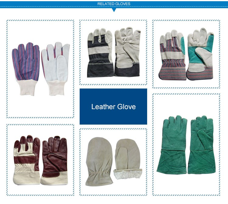 Professional Safety Working Heavy Duty Leather Work Gloves