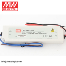Original Meanwell 100W 350mA Constant Current LED Driver LPC-100-350