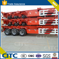 Used Intermodal Chassis for Container transport/Skeletal Chassis for Container Semi Trailer