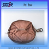 foldable portable outdoor pet traveling pet bowl