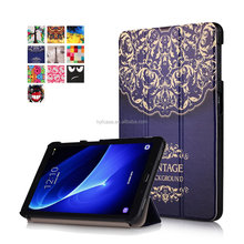 For Samsung Galaxy Tab A 10.1 T580N/T585N Tablet Case Cover China Shenzhen Factory Wholesale Printed Flip PU Leather Case