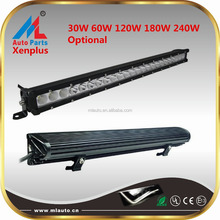 Auto part 30W 60W 120W 180W 240W LED driving light bar 12v 24v bar LED lighting for truck UTV ATV