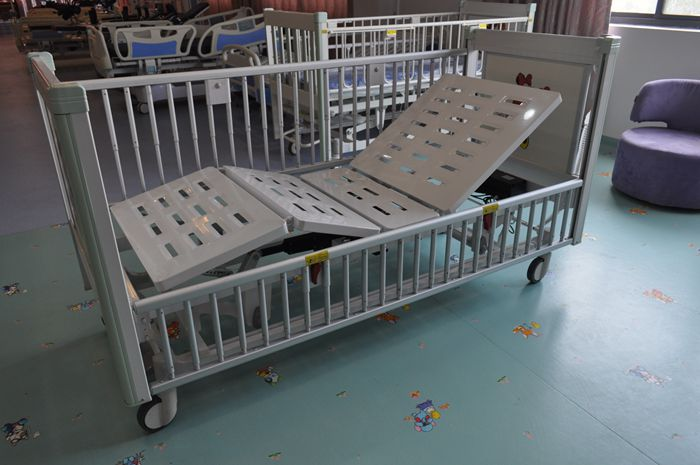 High End Five Function Electric Children Bed, Pediatric Bed, Bed for Kids