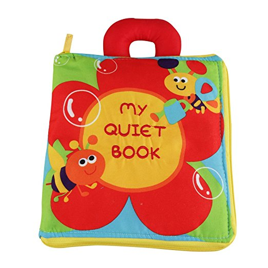 Polyester Cloth Book For Baby Kids Learning Toys For Pre Education