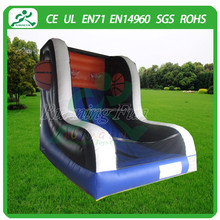 Colourful Inflatable Basketball Hoop, Shoot Game For Sale