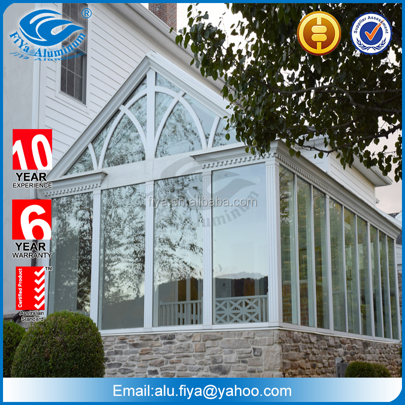 prefabricated glass sunroom roof panels prices