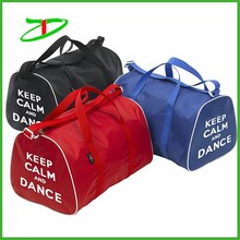 2017 China supplier nylon waterproof dance competition bags with printing