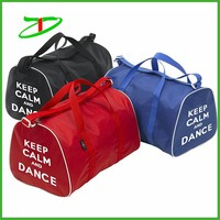 China supplier nylon waterproof dance competition bags with printing