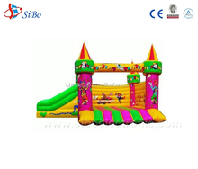 IC0 hot selling inflatable jumping castles for comic world