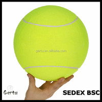 2016 Promotional jumbo inflatable tennis ball