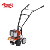 MOQ 10 diesel mini rotavator tiller with low price