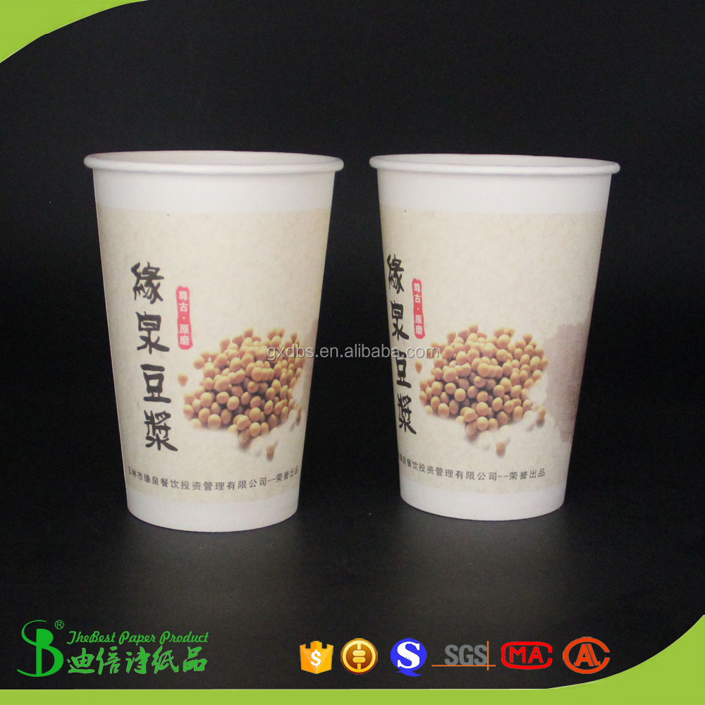 SGS certification and Eco-friendly wholesale plastic caps and paper tea cups