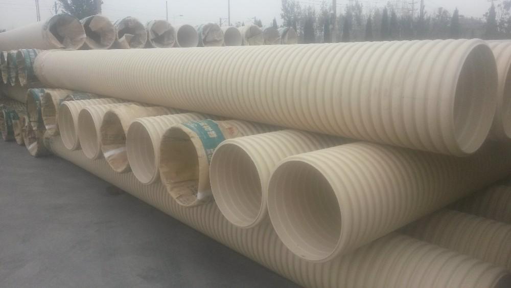 Dn sn pvc corrugated plastic pipe price buy