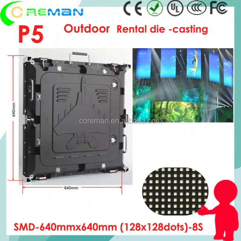 second hand rental led display screen p3 p4 , sexy video full hd led screen p2.5 p3 xxxx , SMD3030 p5 led rental screen module