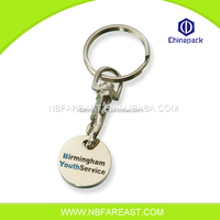 Factory price Customized promotional metal name keychain