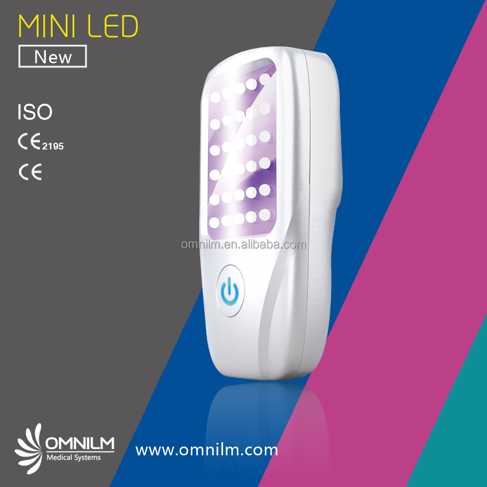 Distributor Wanted PDT LED Skin light therapy beauty equipment MINI LED Designed CE Approved PEM ODM