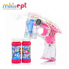 Hot selling kids funny led bubble gun with music and light