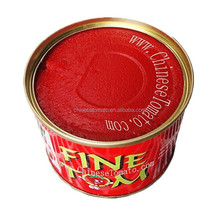 Tomato paste concentrate de tomate tomato primary ingredient and sauce type in can tinned packaging