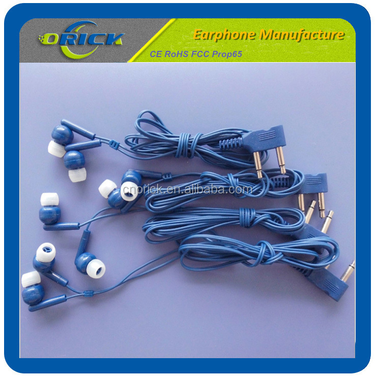 ORK-704 airplane earphone made in China with competitive price