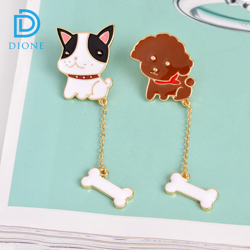 Pin Badge Lapel Pins Deal Offer Discount cute nice dog bone pin