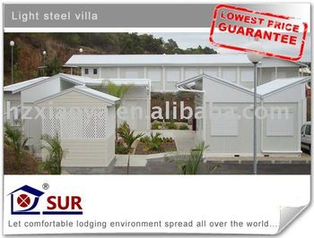 prefabricated villa with low price