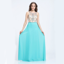 New design gorgeous green wholesale prom ladies long evening party dresses wedding wear gowns made in china