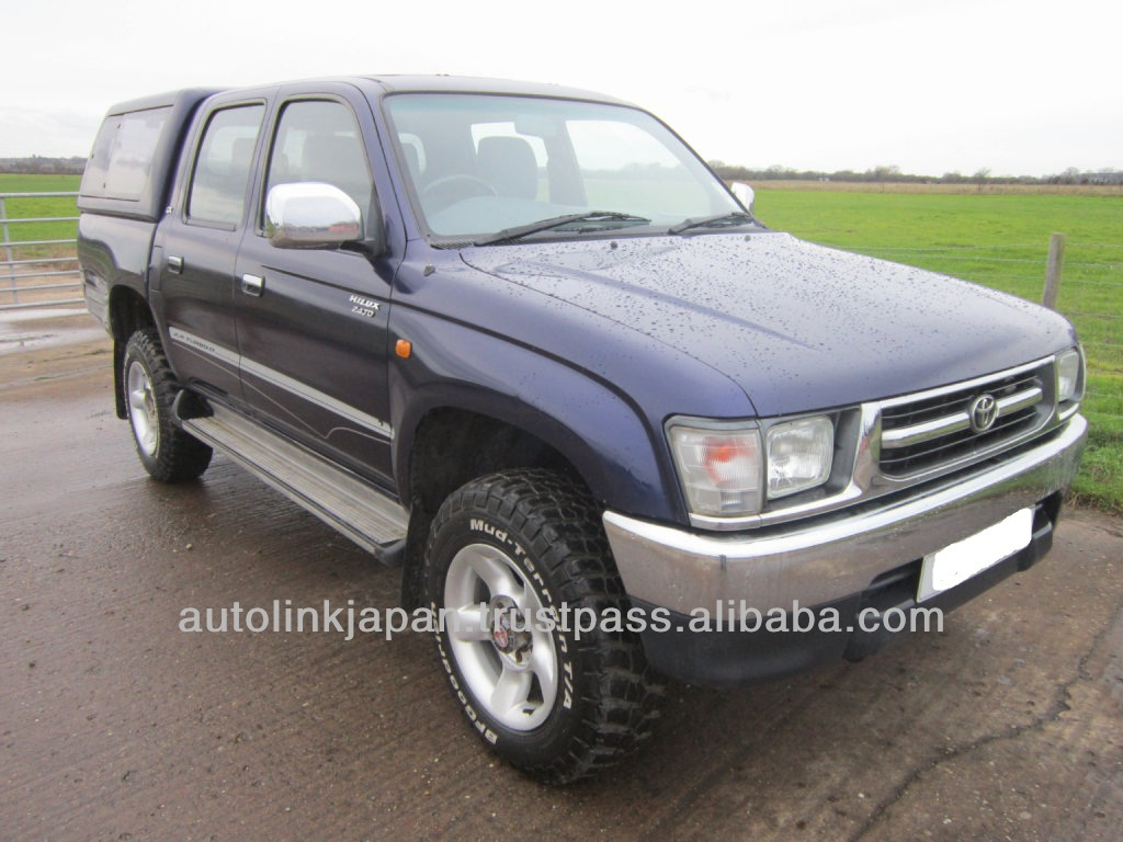 2001 Toyota Hilux Double Cab Pick Up 4WD TD GX 2.4 4dr 21462SL