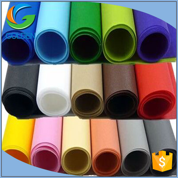 Factory wholesale pp spunbonded non-woven fabric diffeent colors, hydrophilic and anti-UV pp nonwoven fabric