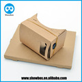 google cardboard vr v1.2 unfold diy 3d view exprience cardboard 1.2 google cardboard supplier manufacture