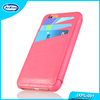 High quality genuine leather phone shell flip case for iphone 6