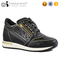 Reasonable price women gold sneakers prices for original sports shoes