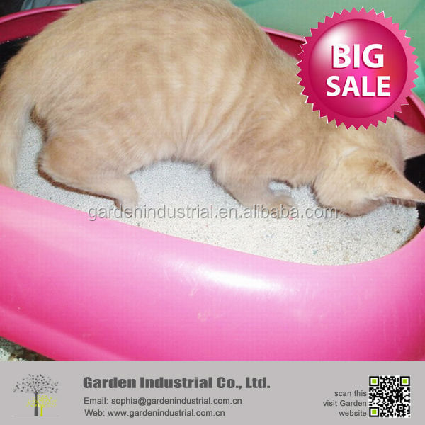 scoopable cat litter kitty sand