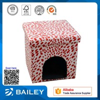economic furniture the dog kennel folding storage floor puff chair