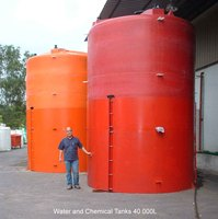 Chemical And Water Tanks