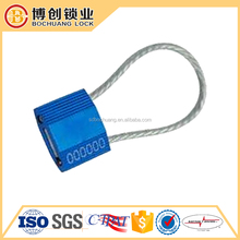 Pull Tight Security Wire cable security seal and cable lock for containers