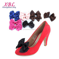 XBL Vintage Satin Bows Shoe Clips