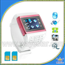 Q8 Dual SIMs Watch Mobile Phone